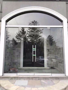 10mm Tempered Glass Entrance Doors / Stairs /Mirrors