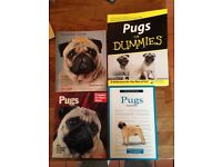 Four Pug Books