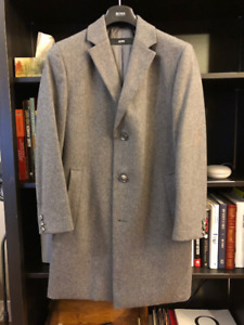 *YOURS NOW* HUGO BOSS Wool Cashmere Coat 36R MSRP $849
