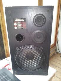 Acoustic Studio Monitor Speakers: Series 3311