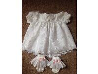 New baby girl dress 0/6 months