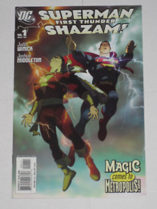 Superman! Shazam!#'s 1,2,3&4 complete series set! comic book