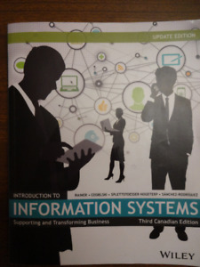 """""""Introduction to Information Systems"""" textbook - ONLY $50!"""