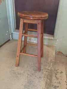 Solid Wood Swivel Top Stool London Ontario image 1