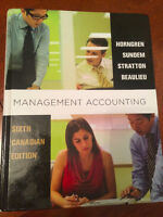 Management Accounting: Sixth Canadian Edition