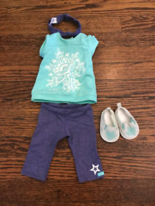 American Girl Casual Outfit