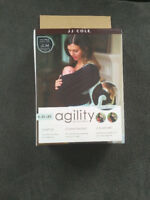 JJ Cole Front Wrap Baby Carrier in Black