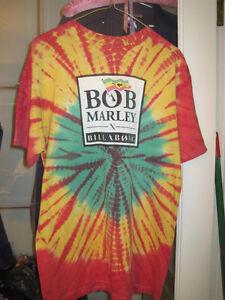 Billabong's Bob Marley Spin Tye-Dye T-Shirt - Size Large