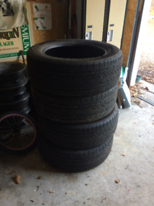 275/55/R20 Continental tires