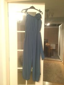 Blue monsoon jump suit for occasion