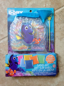 Dory Sand Art / Dory Figurine Craft Activities ~ brand new!
