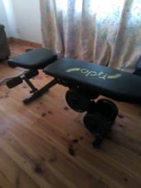bench weights ez curl bar