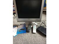 Dion set top box and Goodmans LCD tv