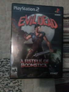 PS2 game Evil Dead for sale....