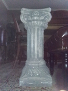 Pillar colonne plant stand support a plante