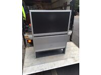 Toshiba Big & Sony Flat screen TV in full working condition no remote