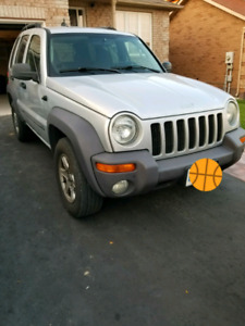 2004 Jeep liberty, remote starter, winter tires!!
