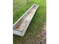 Galvanised Trough/Planter