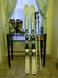 Women's snow ski package size US 6.5