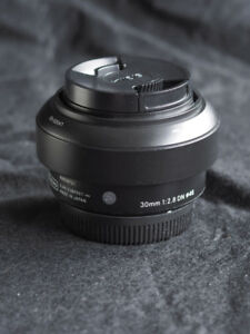 Sigma 30mm 2.8 DN Lens for Micro Four Thirds, Panasonic, Olympus