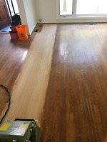 SANDING AND REFINISHING YOUR FLOOR