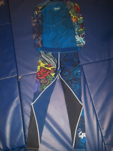 Ground Game BJJ/MMA rash guard and spats combo