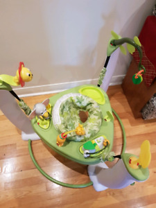 Baby Exersaucer Bouncer Jungle Theme