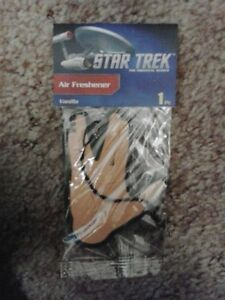 Star Trek  Air Freshener : Vanilla : 1 piece : sealed in package