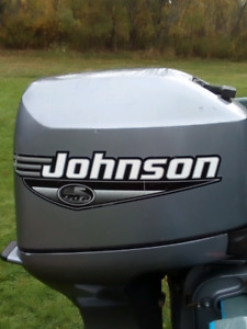 2001 35 hp Johnson outboard