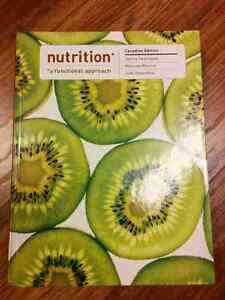 Nutrition - A Functional Approach (Canadian edition)