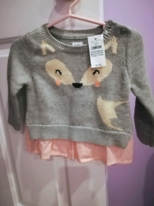 Brand new baby girl clothes. All with tags. See pics and pricing