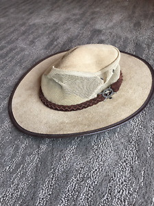 mens suede hat