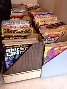 Cherche magazines jeux videos