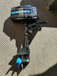 4hp Mercury Outboard