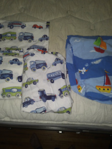 Crib size bed sheets