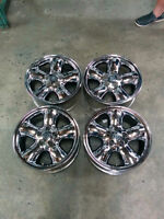 "4 mags chrome cadillac catera 16""x7"" ,5x110, +39offset"