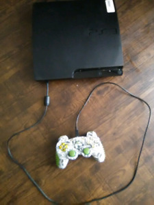 PS3 system, 120gb, all hookup's, 1 controller