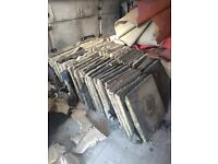 Free used concrete paving slabs for collection