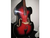 Framus 'Black Rose' Double Bass