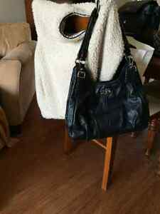 Authentic black leather Coach purse - excellent condition Peterborough Peterborough Area image 1