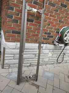 Heavy duty bed frame on wheels Belleville Belleville Area image 1