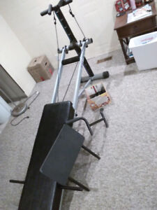 Folding total trainer exercise equipment