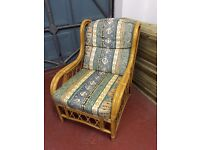 Single cane conservatory chair