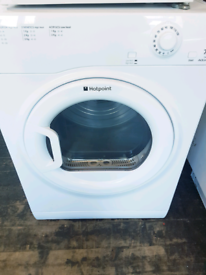 Hotpoint 7 kg newish model vented dryer free delivery