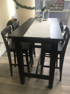 Dining Table + Chairs for Sale