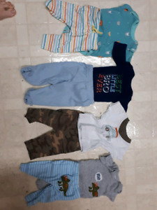 Boys size 0-3 months