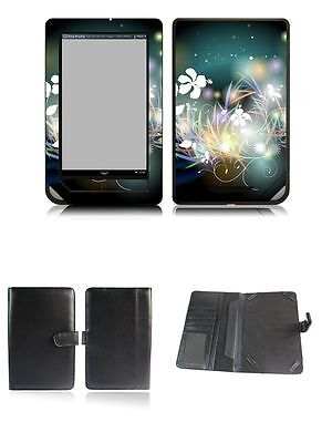 Happybird Nook Tablet Nook Color Case Cover with skin combo-black set6(043) for sale  Shipping to Canada