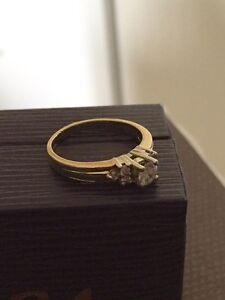 STUNNING 14k Two Tone .50 TW Diamond Ring Belleville Belleville Area image 6