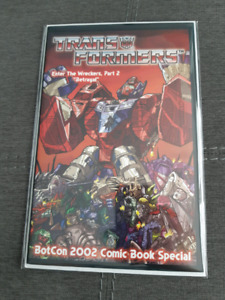 Rare Transformers BotCon 2002 Promo Comic