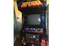 Williams Defender arcade machine - superb original condition
